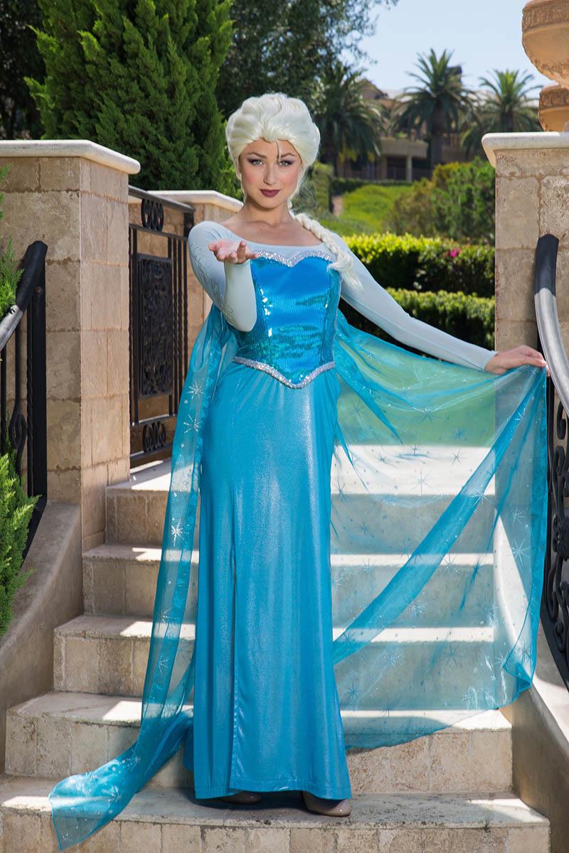 Frozen elsa party character for kids in nashville