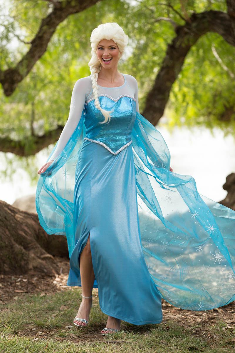 Princess elsa party character for kids in nashville